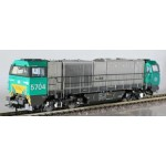 B-Models 3004.01 5704 Diesellok NMBS DC analog