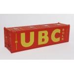C-RAIL 30ft Bulkcontainer Container UBC H0