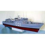DM Corvette Kriegsschiff VOSPAR TOBRUK 1:96 für Modellbahn H0 HO