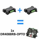 DIGIKEIJS DR4088RB-OPTO 16-Kanal Rückmeldemodul R-BUS für Roco Z21 H-Bridge System