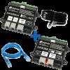 DIGIKEIJS DR4088LN-2R_BOX Rückmeldemodul Starter-Kit Set L.NET S88 + Kabel für 32 Anschlüsse 2-Rail DC
