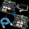DIGIKEIJS DR4088RB-CS_BOX Set Starter Kit Rückmeldemodul R-BUS für Roco Z21 32 Anschlüsse 2-Rail DC