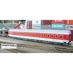HERIS 11291 Schlafwagen Personenwagen lichtgrau verkehrsrot T2s WLABm DBAutoZug Ep.V - LAGERWARE