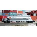 HERIS 11914 Silowagen Silotransportwaggon Feldbinder D-FRS silber Ep.VI