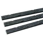 PECO SL-501 0e-Holzschwellen für den Gleisbau, Länge 127 mm, Beutel mit 10 Stück, SPAR SET 6 Stück