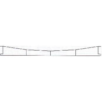 Sommerfeldt 144 H0m / H0 Fahrdraht 250 mm (für Radius ab 600mm) 5 Stück LAGERWARE