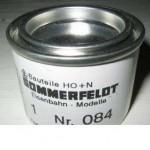 Sommerfeldt 084 Farbe basaltgrau RAL 7012 für Fahrdraht (ca.50g)