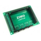 Zimo LOKPL99 Lok-Platine mit Stiftleisten, zu MX699LS und MX699LV - 62 x 46 x 10,5 mm