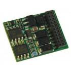 Zimo MX635PW H0 (Spur-0) Decoder mit Energiesp.-Ansch.(16V) - 25 x 15 x 3,5 mm - 1,6 A mit Niederspannung 5 V für Fu-Ausgänge und Servos