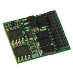 Zimo MX635 H0 (Spur-0) Decoder mit Energiesp.-Ansch.(16V) - 25 x 15 x 3,5 mm - 1,6 A