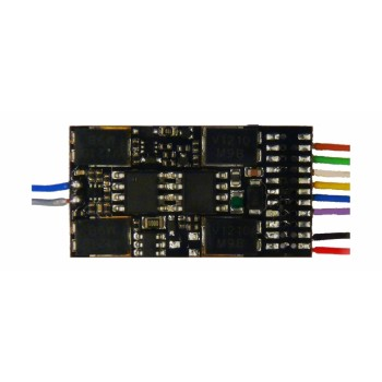 Zimo MX687V Funktions-Decoder mit Energiesp.-Ansch.- 28,5 x 15,5 x 4 mm - 1,6 A